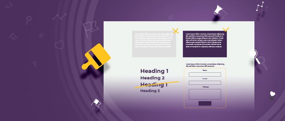 4 грешки, които не трябва да допускаме в уеб дизайна си