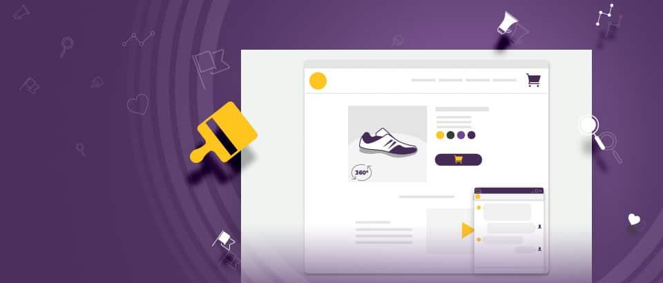 Актуални тенденции в дизайна при онлайн пазаруването