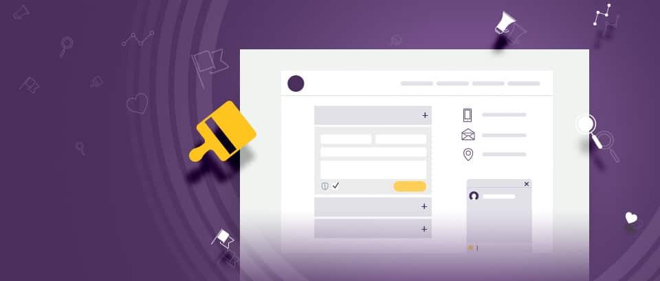 Няколко идеи за уеб дизайн на страница Контакти